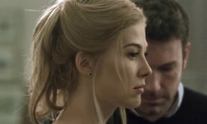Rosamunde Pike in the 2014 film adaptation of Gone Girl (2014).
