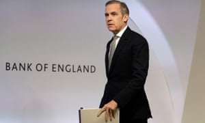 Mark Carney, outgoing governor of the Bank of England.