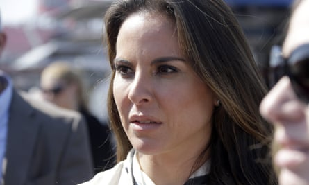 Kate del Castillo said she believes the project 'is already kind of tainted' but will continue.