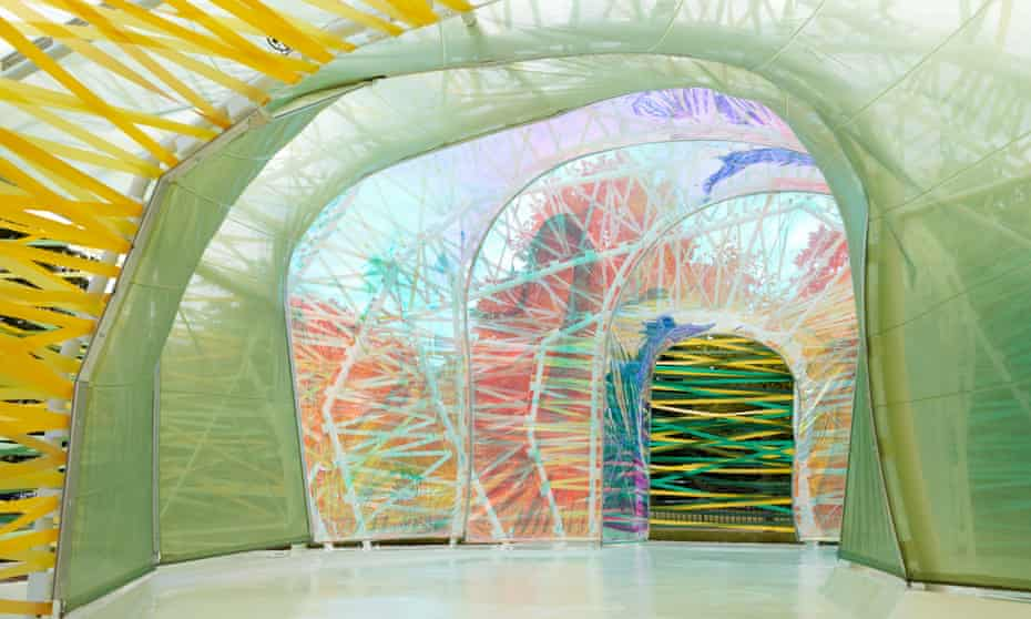 Serpentine Pavilion 2015 designed by Selgascano