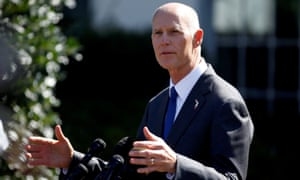 Florida governor Rick Scott was reported to have banned the phrases 'global warming' and 'climate change' from state documents and websites, allegations he has denied.