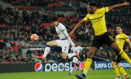 Mauricio Pochettino salutes Son and Spurs 'heroes' after Dortmund win