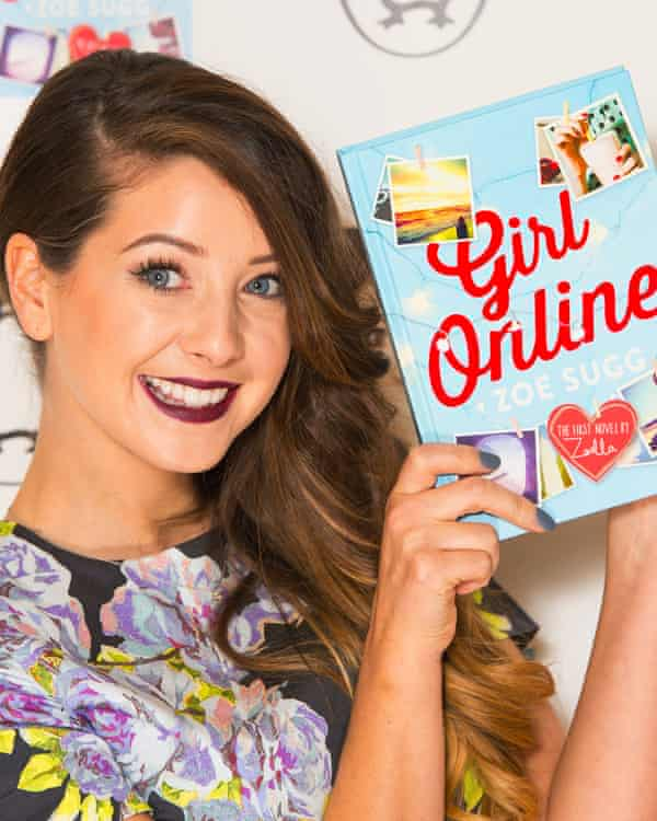 'Our very silly fake show is arguably more truthful than the documentaries on the subject' … superstar vlogger Zoe Sugg, aka Zoella.
