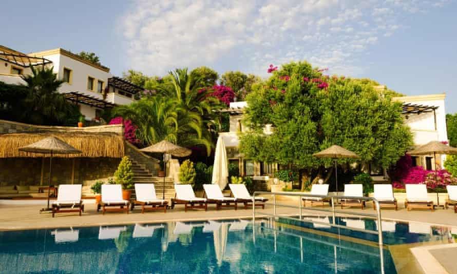 4 Reasons Hotel+Bistro near the village of Yalikavak near Bodrum, Turkey