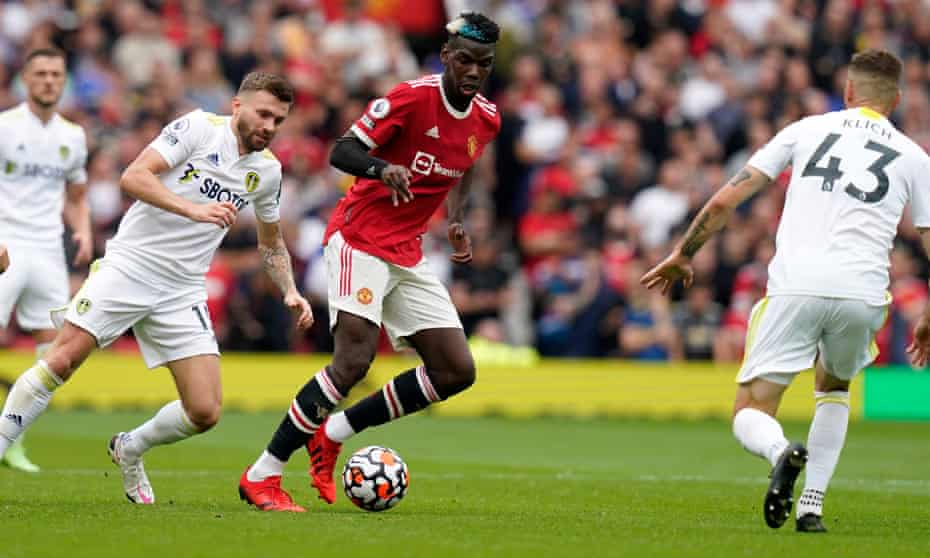 Paul Pogba sparkled in Manchester United's 5-1 victory over Leeds.