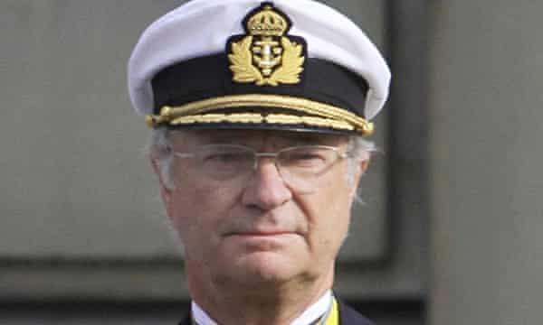 Sweden's King Carl XVI Gustav