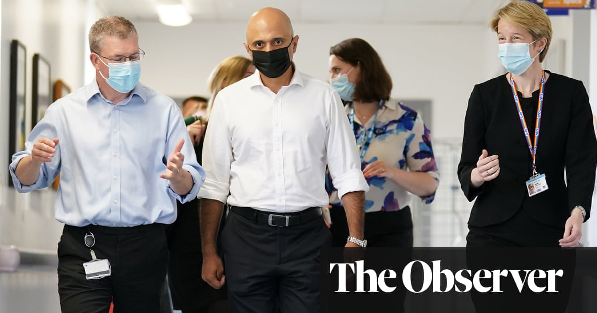 Sajid Javid working on radical plan to merge social care with health in England