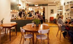 The dining room of Sambai Shiok.