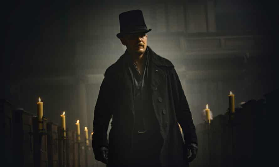A cross between Bill Sikes, Heathcliff and Hamlet … Tom Hardy is clearly having a ball as James Keziah Delaney.