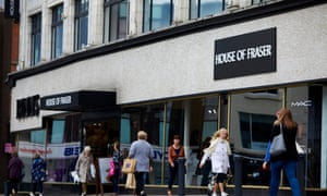 House of Fraser store in Darlington