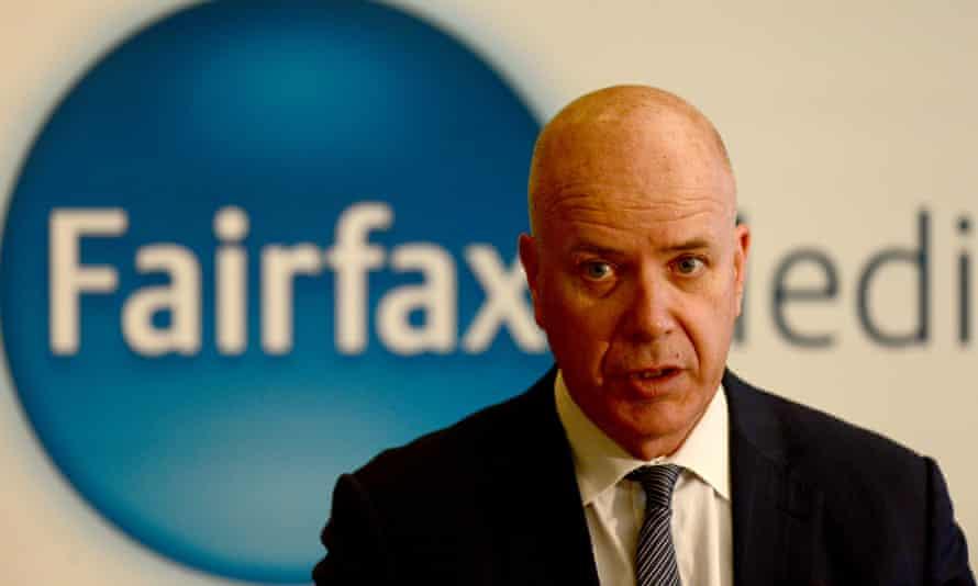 Fairfax Media CEO Greg Hywood at the 2016 AGM.