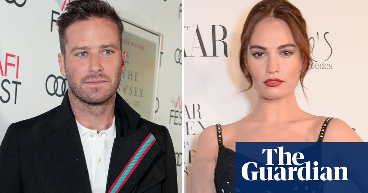 Lily James and Armie Hammer to star in Rebecca movie remake