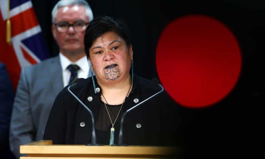 Newly appointed Minister of Foreign Affairs Nanaia Mahuta speaks during a Labour press conference at Parliament on November 02, 2020 in Wellington, New Zealand. Labour's Jacinda Ardern claimed a second term as prime minister after claiming a majority in the 2020 New Zealand General Election on Saturday 17 October, claiming 64 seats. (Photo by Hagen Hopkins/Getty Images)