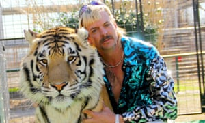 Joe Exotic, a polyamorous, power-ballad singing, gun-toting American