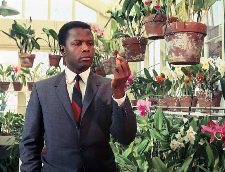 Sidney Poitier - In Tennessee, the local sheriff said: 'Keep your people in the hotel.'