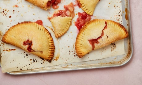 Meera Sodha's vegan recipe for peach and strawberry hand pies
