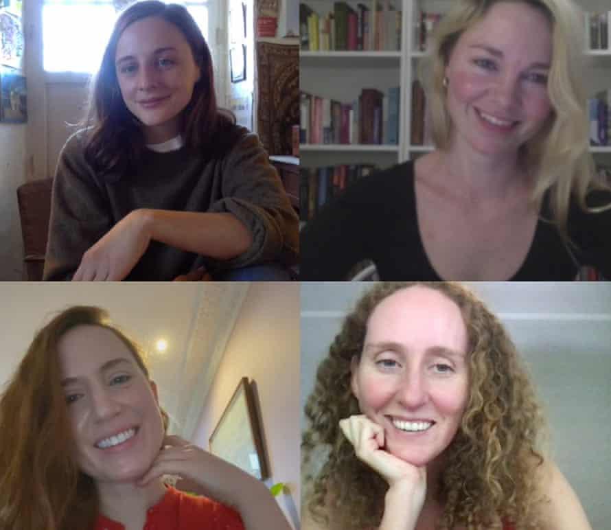 Imogen Dewey (top left), Helen Sullivan (top right), Emma Withers (bottom right), Chelsea Blakemore (bottom left)
