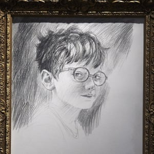 A sketch titled The Boy who Lived