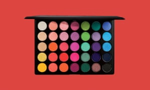 Selfridges Morphe 35B colour burst artistry palette
