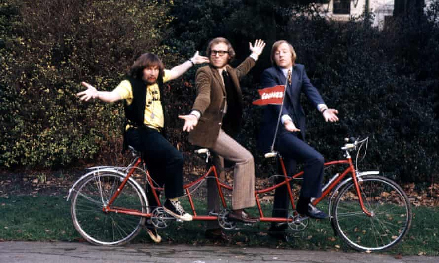 The Goodies rode a red Trandem in the first two series of the show.