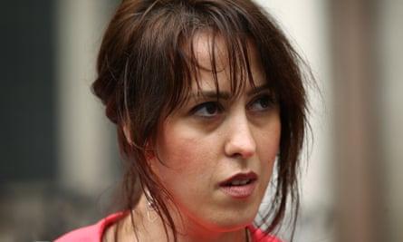 Anti-abortion campaigner Alina Dulgheriu
