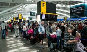 British Airways passengers