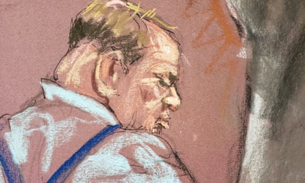 Film producer Harvey Weinstein attends his trial at New York criminal court in Manhattan.