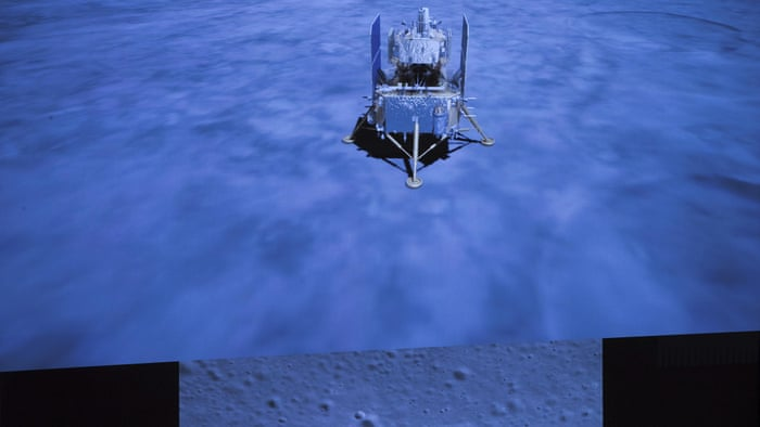 Chang'e-5: China's unmanned moon probe delivers samples to orbiting spacecraft