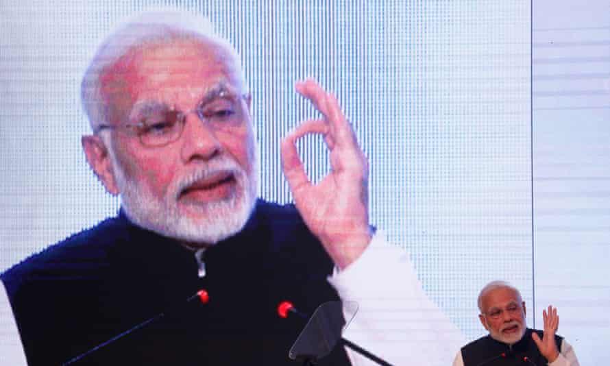 India's prime minister, Narendra Modi