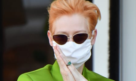 'It's just obvious to me' ... Tilda Swinton at the Venice film festival.
