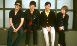 Talking Heads: from left, Chris Frantz, Jerry Harrison, David Byrne and Tina Weymouth.