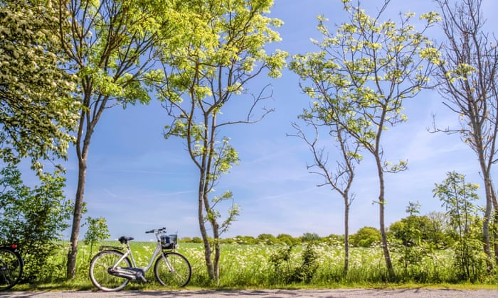 Cycling on Bornholm island.