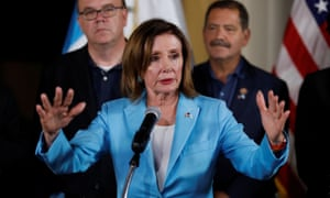 Nancy Pelosi, the House speaker, urged 'extraordinary action to save lives'.