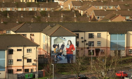 The Bogside area of Derry