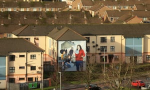 The Bogside area of Derry.