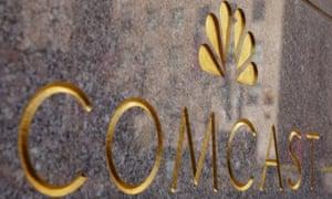 The NBC and Comcast logos