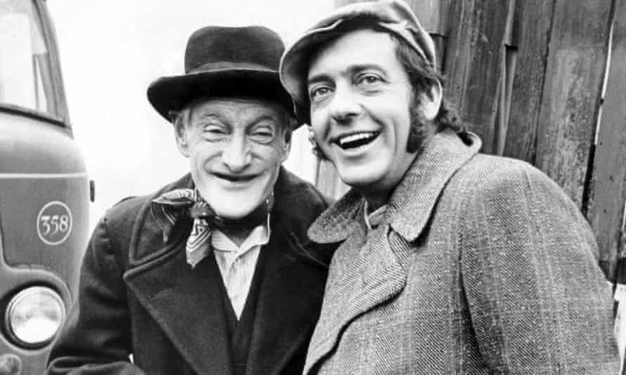 Harry H Corbett, right, and Wilfrid Brambell in Steptoe and Son.