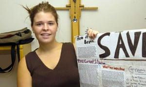 Kayla Mueller, 26, was killed in February 2014.