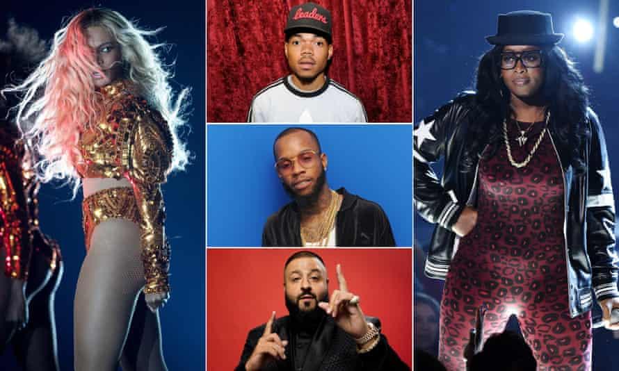Grammy grabbers: Beyonce, Chance the Rapper, Remy Ma, DJ Khaled and Tory Lanez