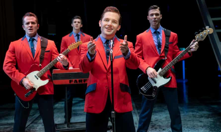 Colourful stories … Brickman turned down Jersey Boys at first