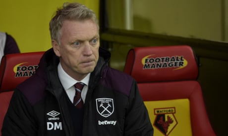 David Moyes pleads for unity at West Ham as fans turn on club hierarchy