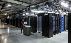 Inside Facebook's Lulea data centre in Sweden