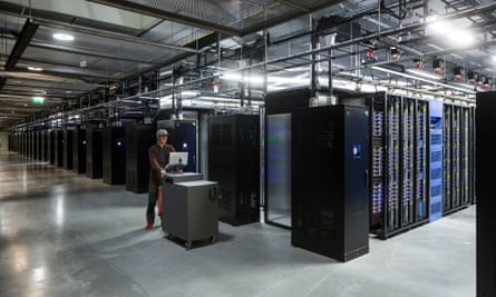 Inside Facebook's Lulea data centre in Sweden