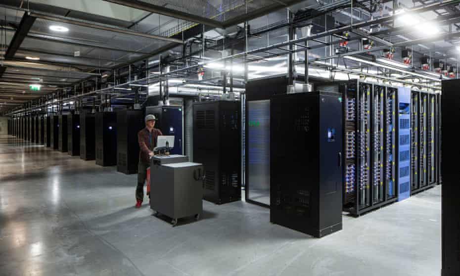 Facebook's data centre in Sweden