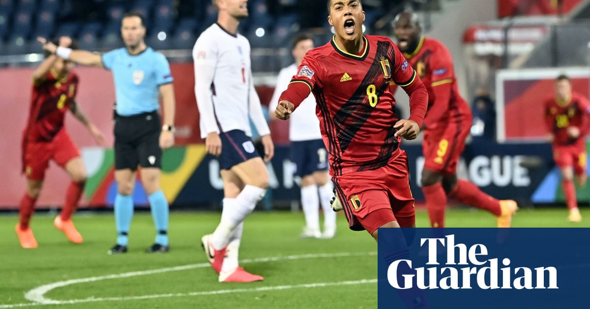 Belgiums Tielemans and Mertens end Englands Nations League hopes