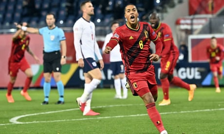 Belgium's Tielemans and Mertens end England's Nations League hopes