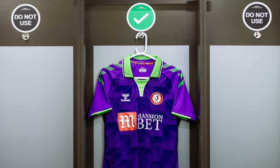 Bristol City's away match shirt