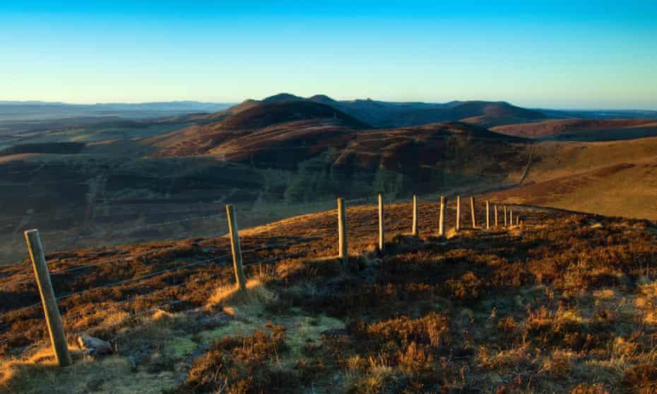 Castlelaw, from Caerketton, the Pentland Hills regional park, Scotland.