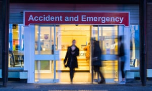 Accident and Emergency department at University Hospital of North Tees, Stockton on Tees