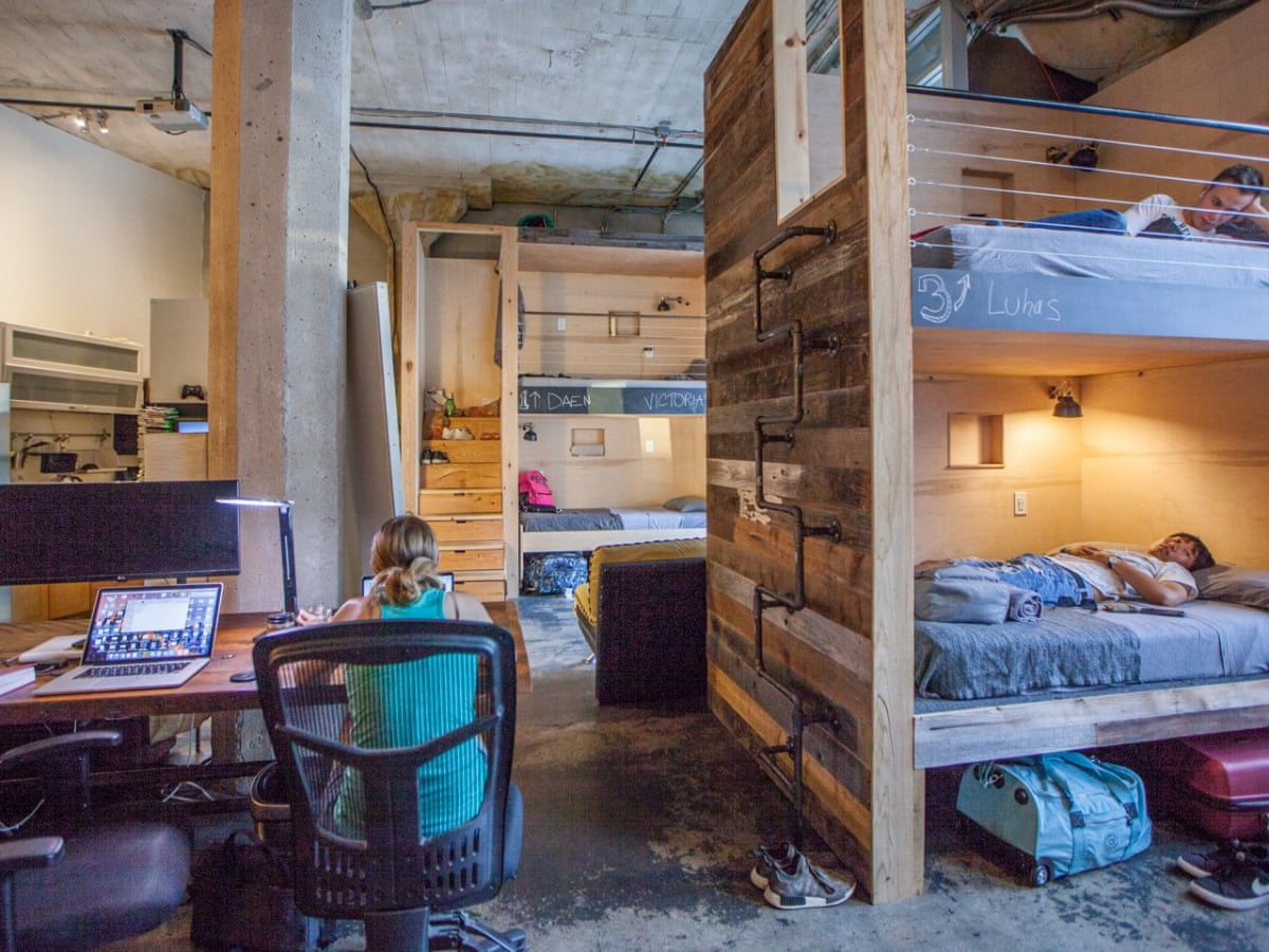 Silicon Valley S Answer To The Housing Crises Charging 1 200 For A Bunk Bed In A Shared House Housing The Guardian